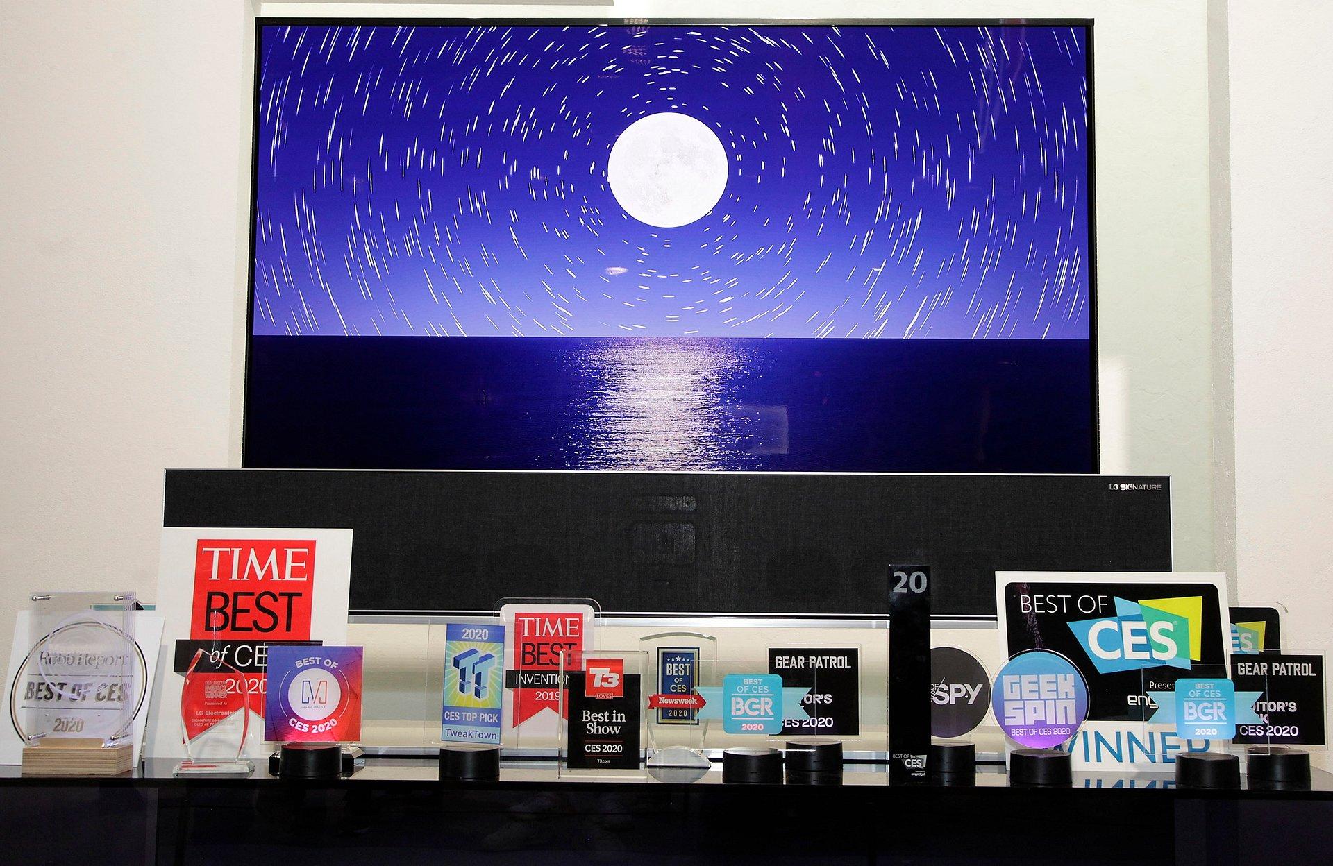 CES 2020: Ponad 150 nagród dla urządzeń LG!