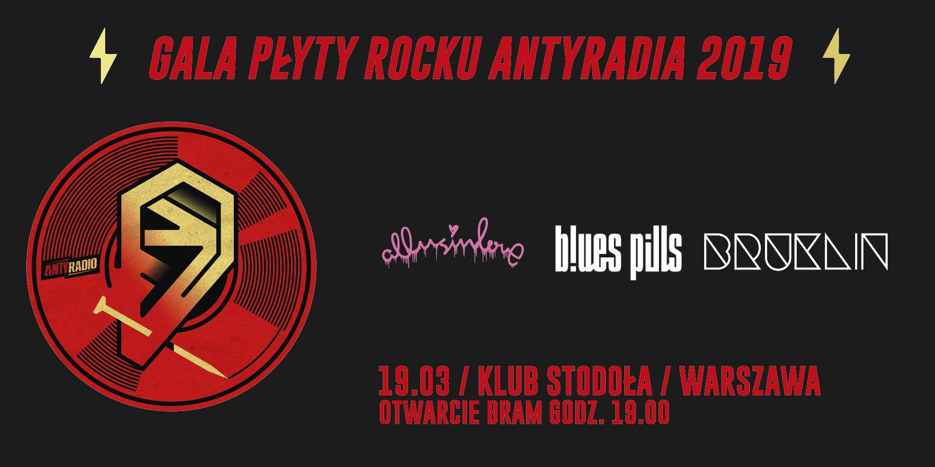 """Blues Pills zagra na """"Płycie Rocku Antyradia"""" 2019"""