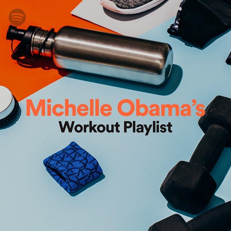 Czego słucha Michelle Obama podczas treningów? Przekonajcie się sami!