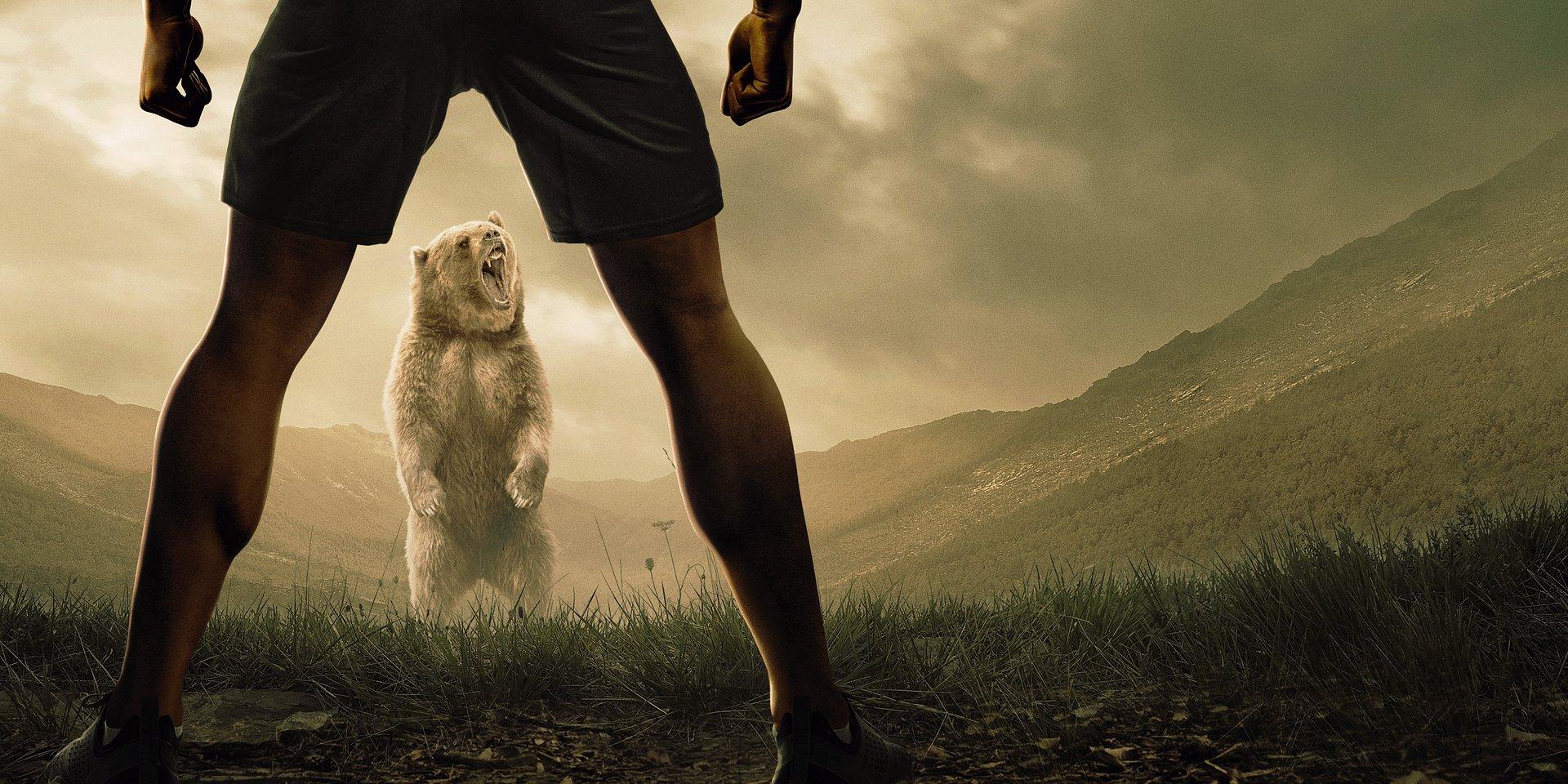 """""""Człowiek kontra niedźwiedź"""" – takiego programu na Discovery Channel jeszcze nie było!"""