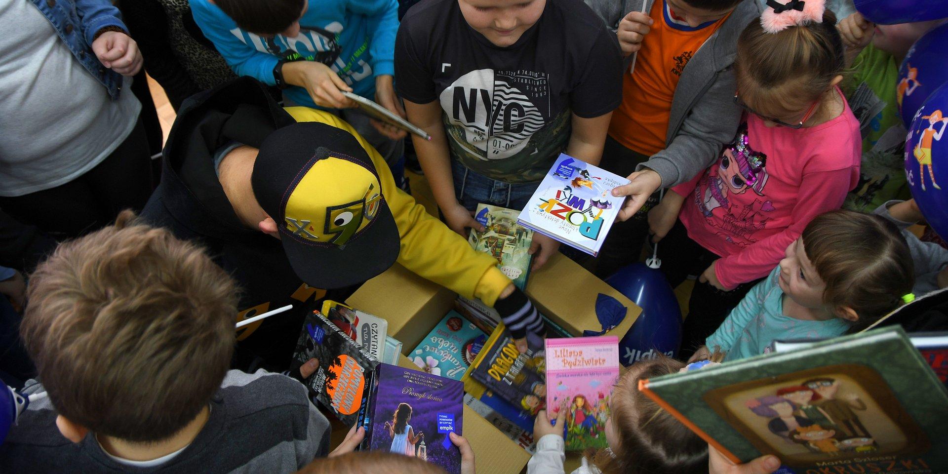 1000 książek od Empiku dla szkoły w Brwinowie