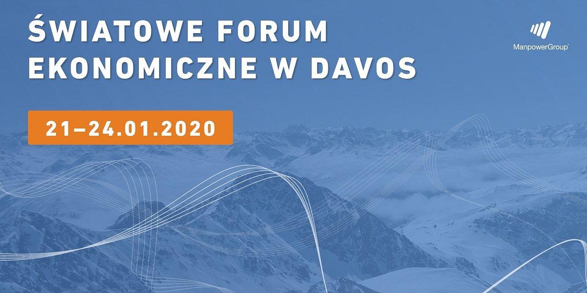ManpowerGroup na Światowym Forum Ekonomicznym w Davos
