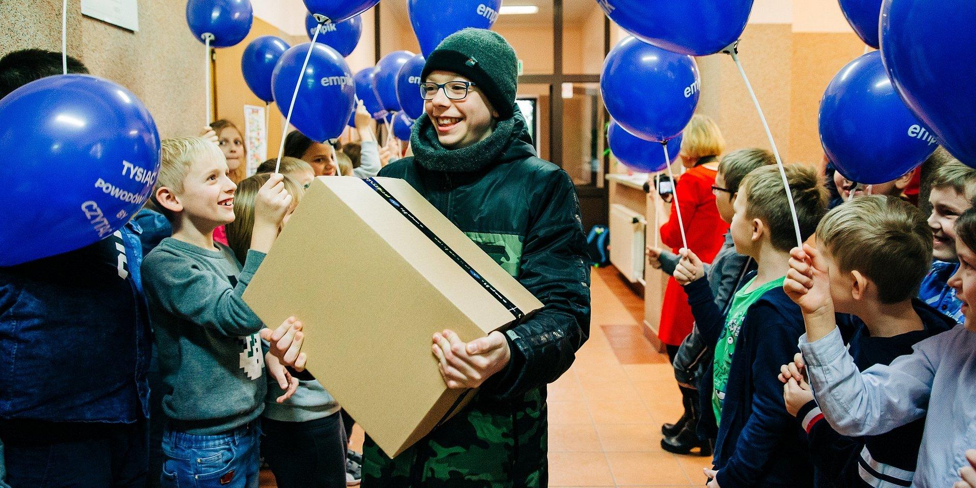 1000 książek od Empiku dla szkoły w Młynarzach