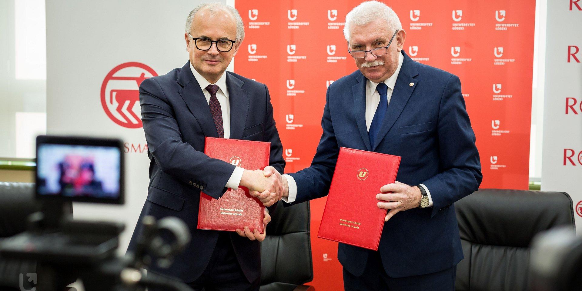 Uniwersytet Łódzki zacieśnia współpracę z firmą Rossmann