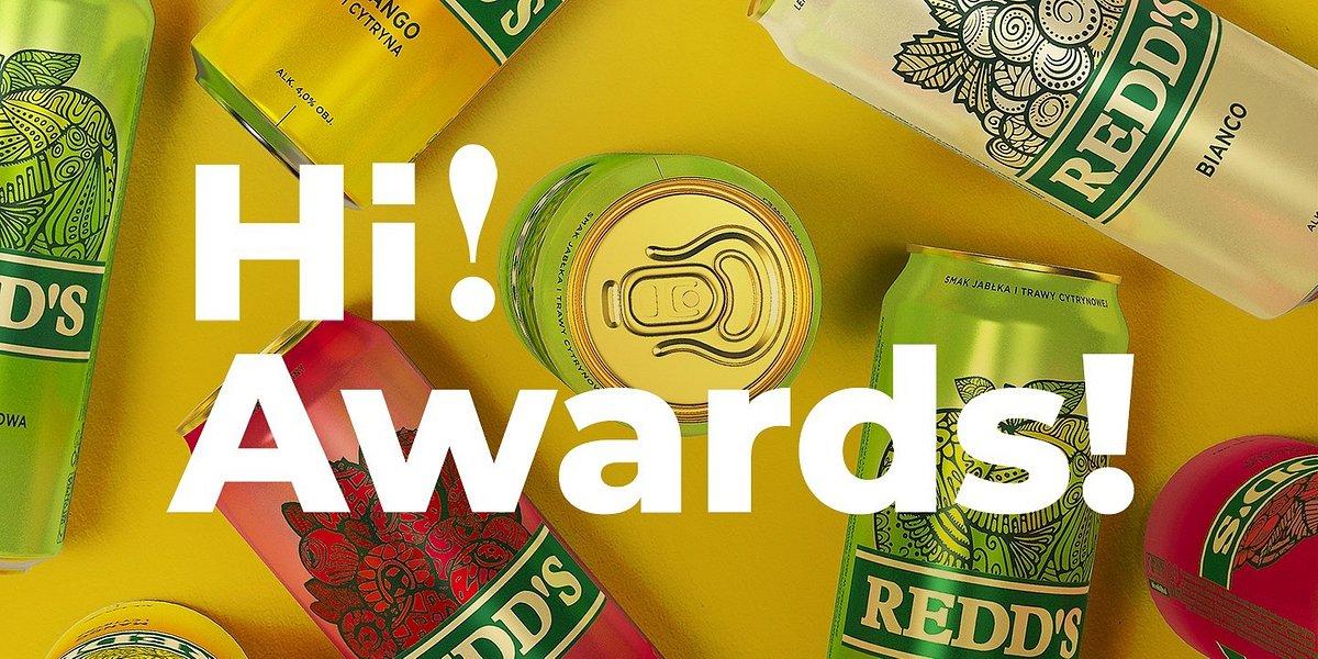 Platyna i złoto Creativity International Awards dla zespołu Hi!Brands