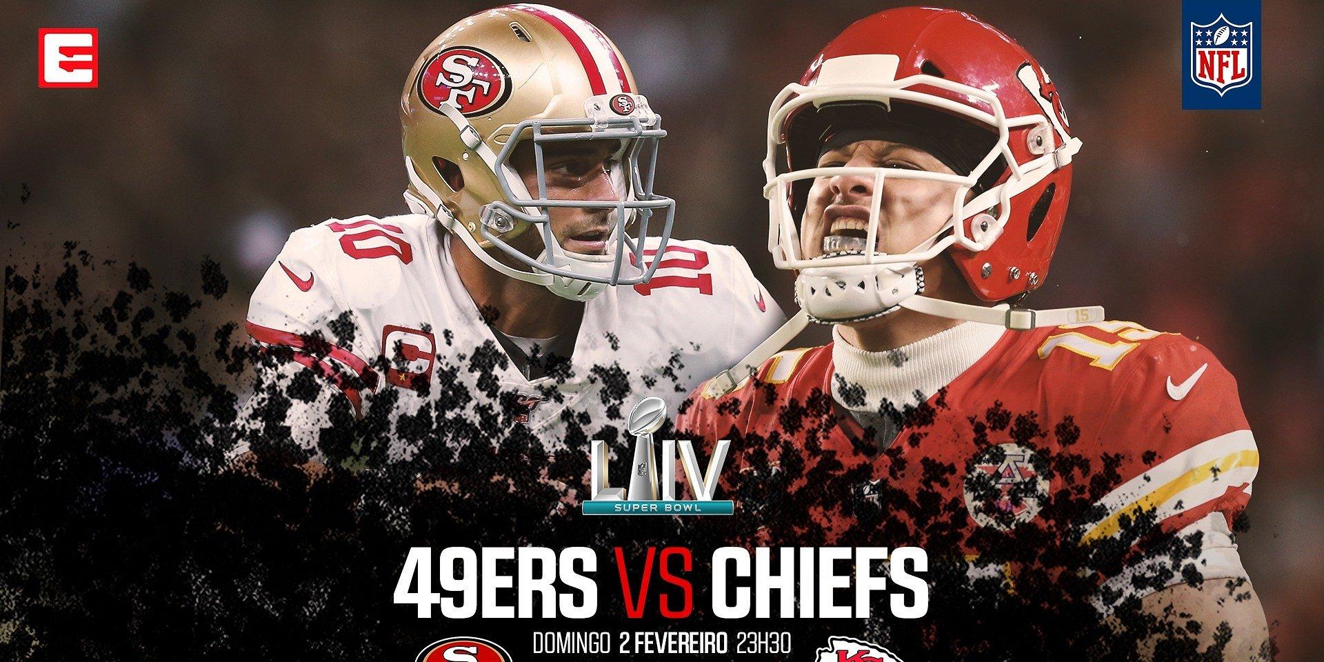 Super Bowl LIV com transmissão em Direto e em Alta Definição na Eleven Sports
