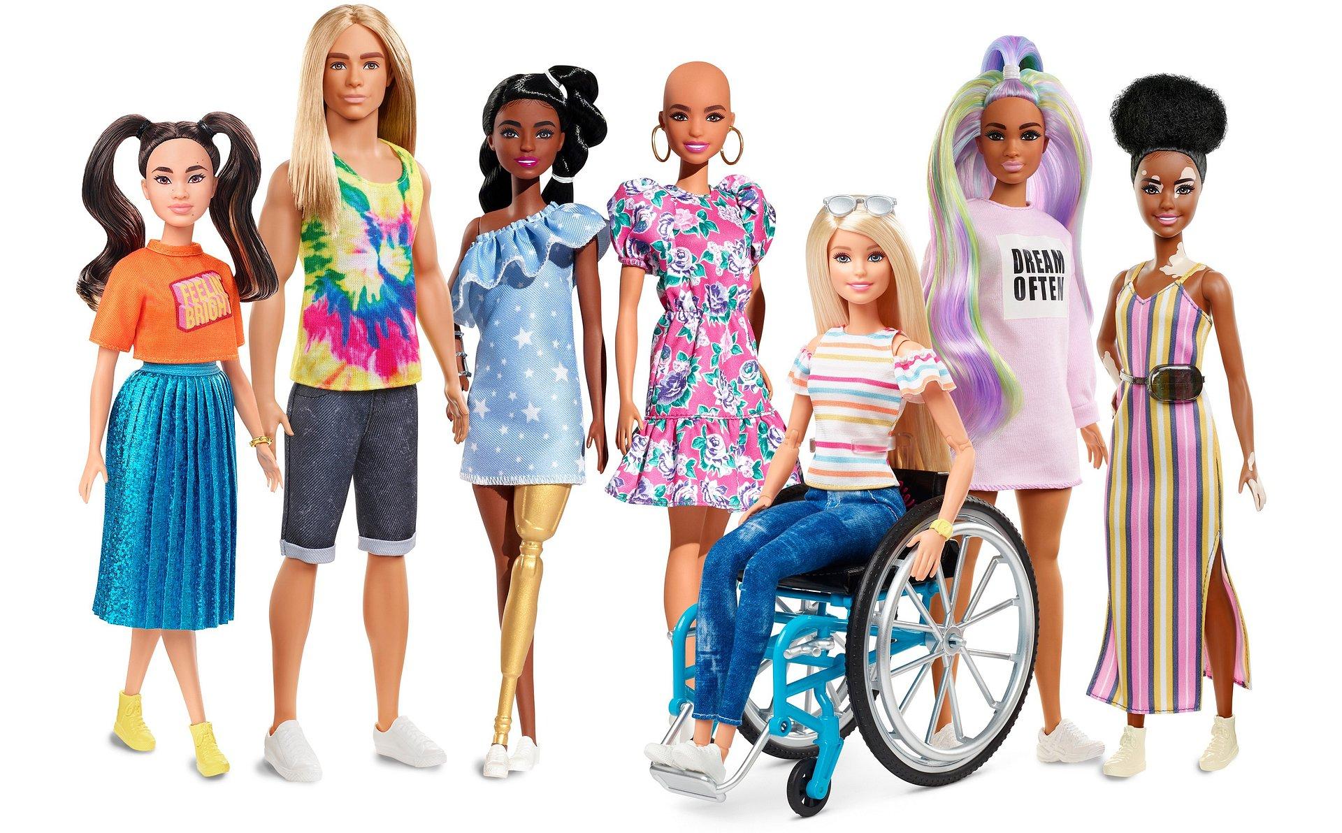 Barbie jeszcze bardziej różnorodna