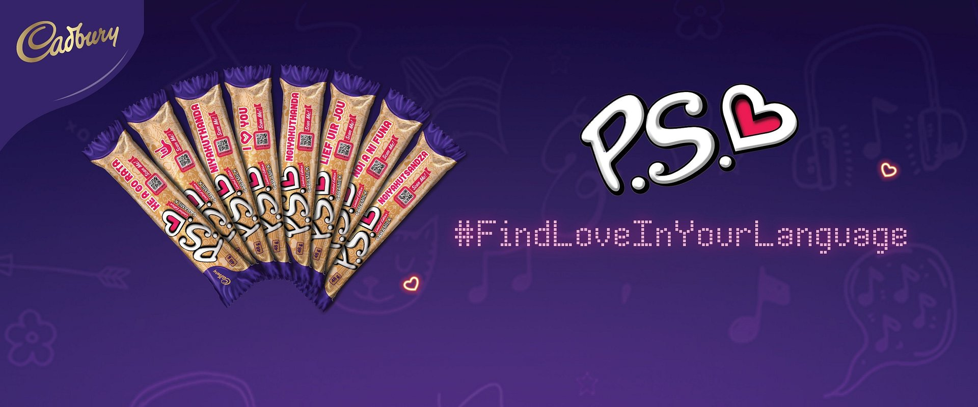 Sing a Love Note and #FindLoveInYourLanguage with the Cadbury P.S. Valentines Campaign