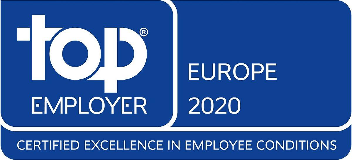 Alstom wyróżniony certyfikatem Top Employer Europe 2020