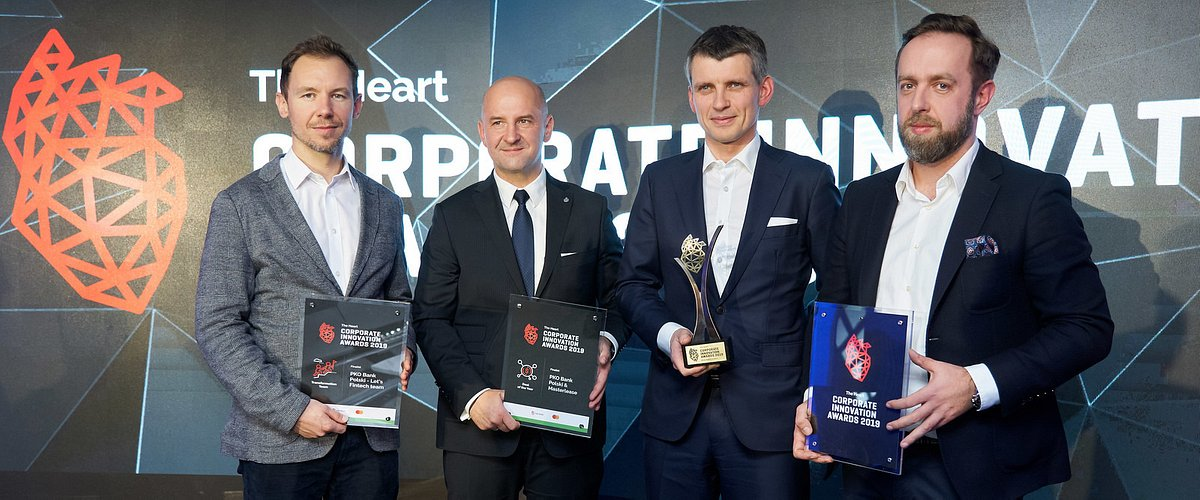 PKO Bank Polski nagrodzony w konkursie The Heart Corporate Innovation Awards 2019