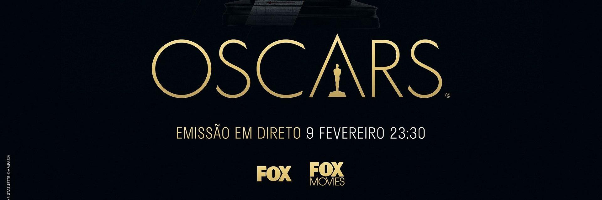 COMENTÁRIOS DOS OSCARS® NA FOX, A CARGO DE JOANA CRUZ, RODRIGO GOMES E PAULO PEREIRA DA RFM