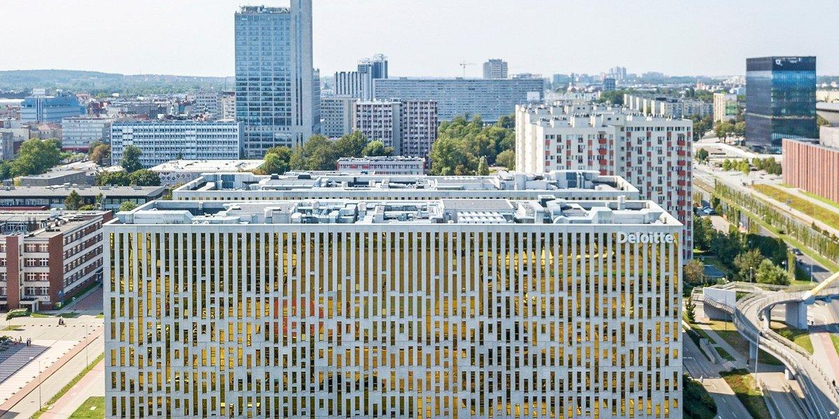 Biurowe sukcesy Globalworth w Katowicach