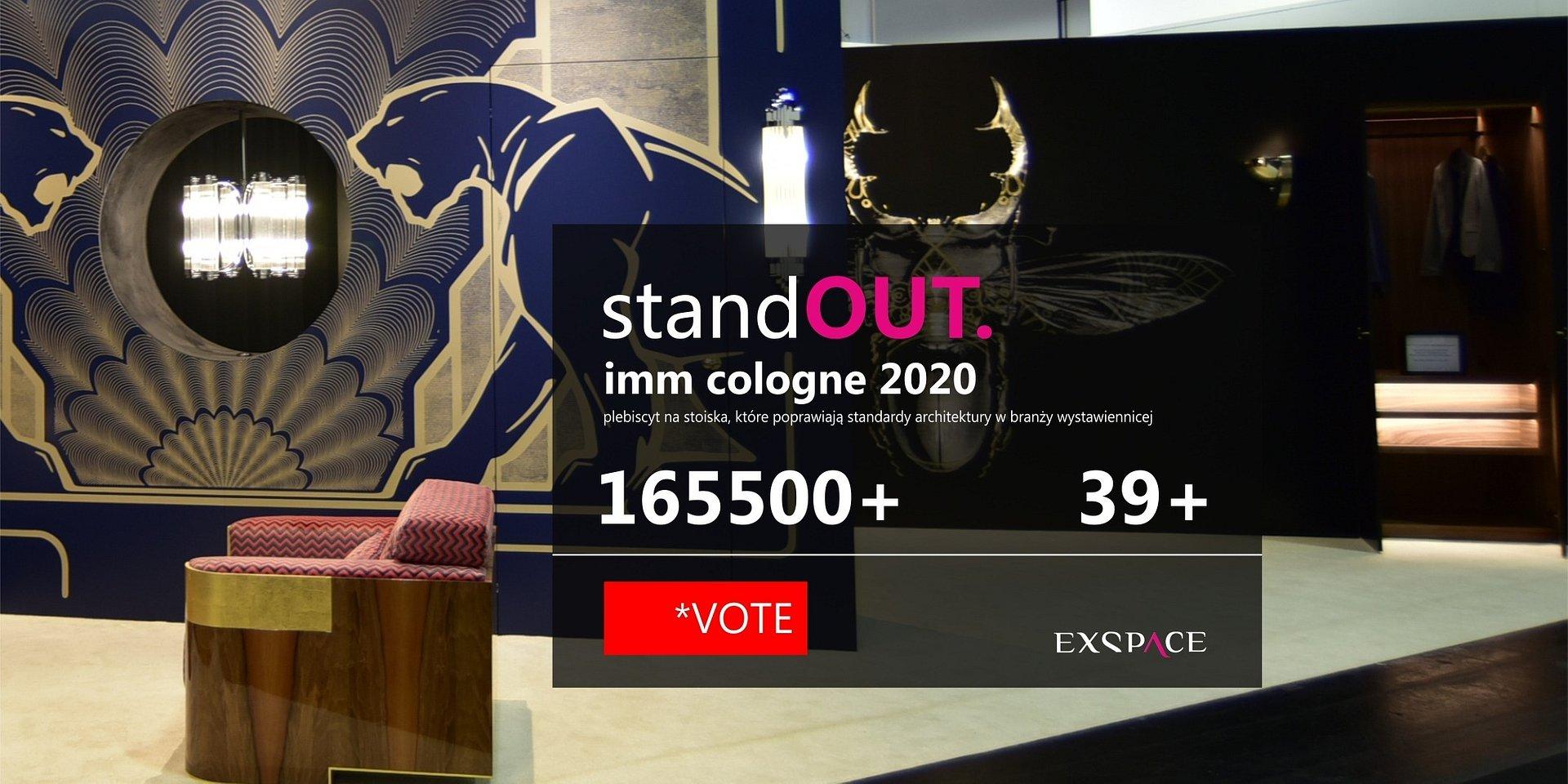 Wybierz razem z nami najlepsze polskie stoiska imm cologne 2020!