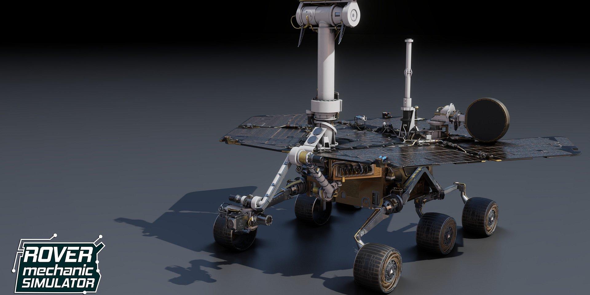 Odkryj sekrety łazików marsjańskich w grze Rover Mechanic Simulator!