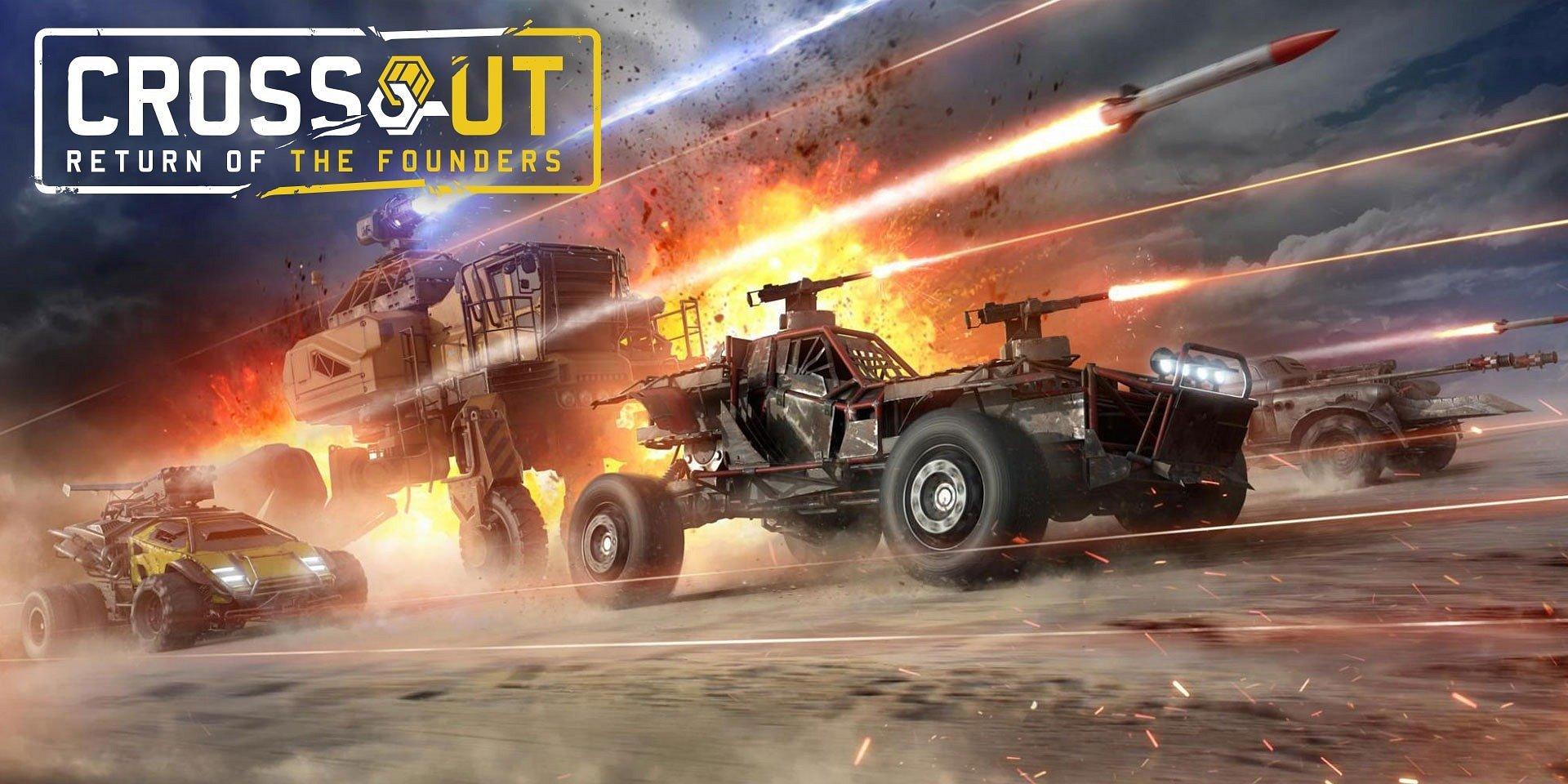 Új frakció csatlakozik a Crossouthoz, ami óriási csata-kotrógépeket és még sok mást hoz magával