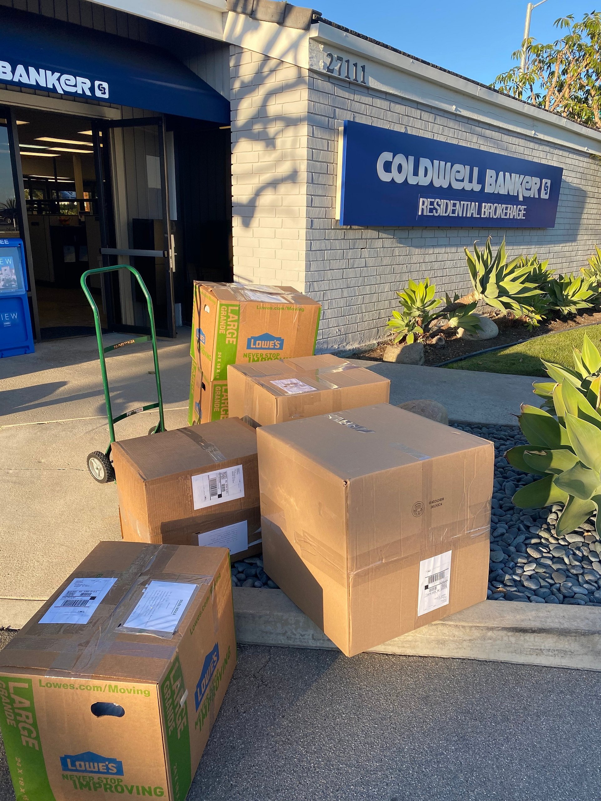 The Dana Point/San Clemente/San Juan Capistrano Office of Coldwell Banker Realty Collects More Than 400 Pairs of Shoes for Soles4Souls