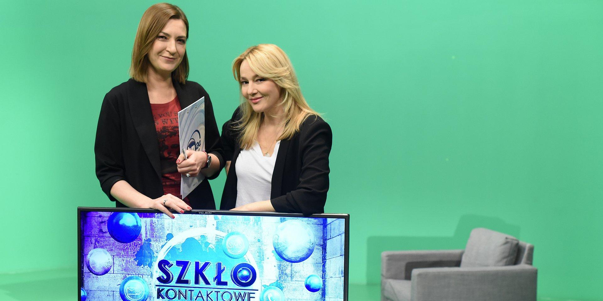 """Katarzyna Kwiatkowska i dr Katarzyna Kasia nowym duetem w """"Szkle kontaktowym"""""""