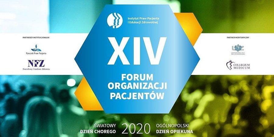 XIV Forum Organizacji Pacjentów