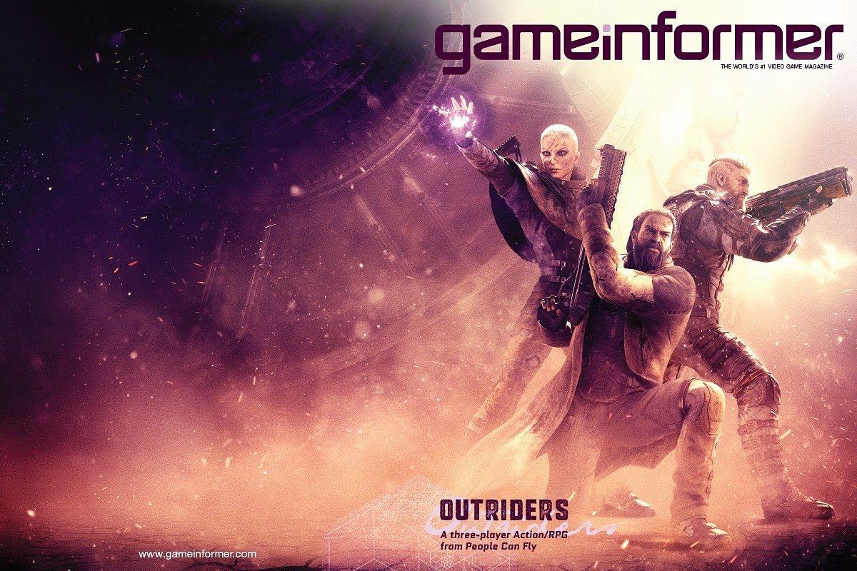 Hat-trick People Can Fly! Outriders trzecią grą studia z kolei na okładce Game Informera!