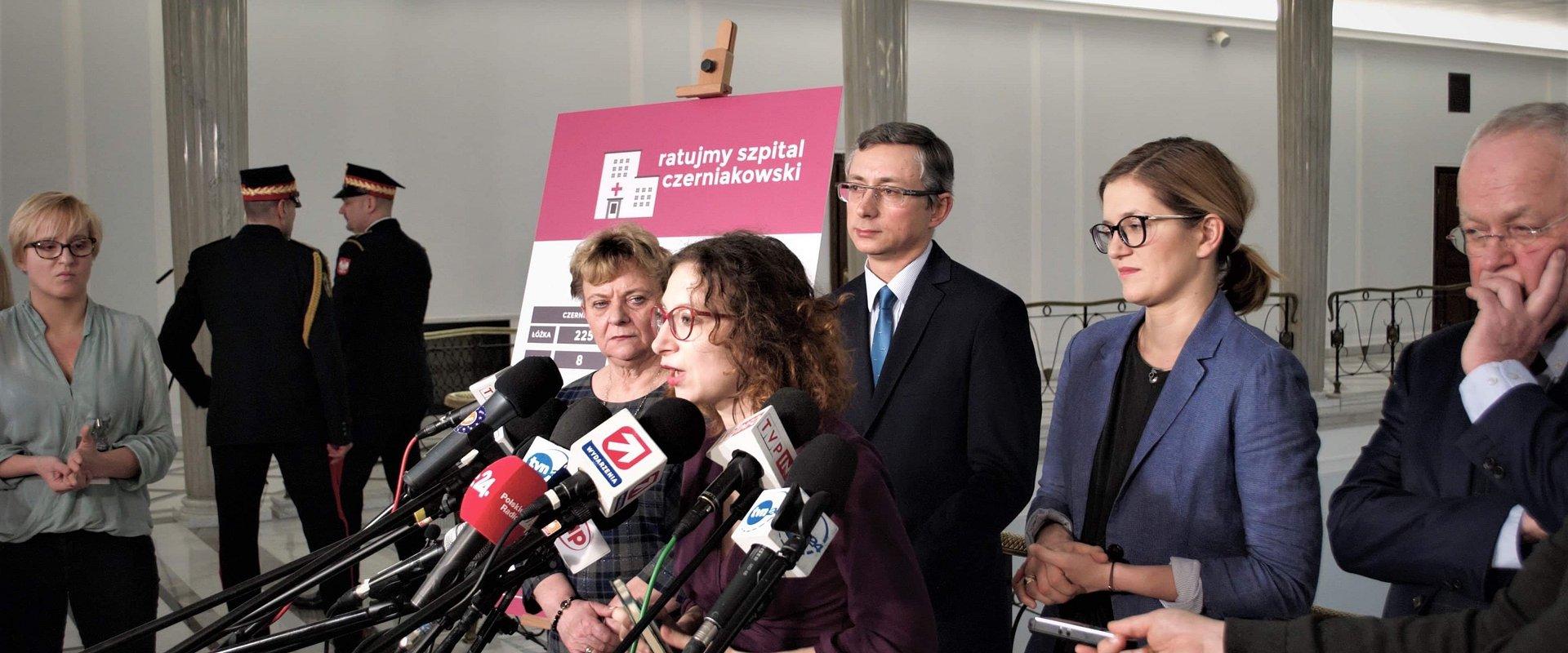 Lewica zgłasza nowelizację do ustawy o sieci szpitali