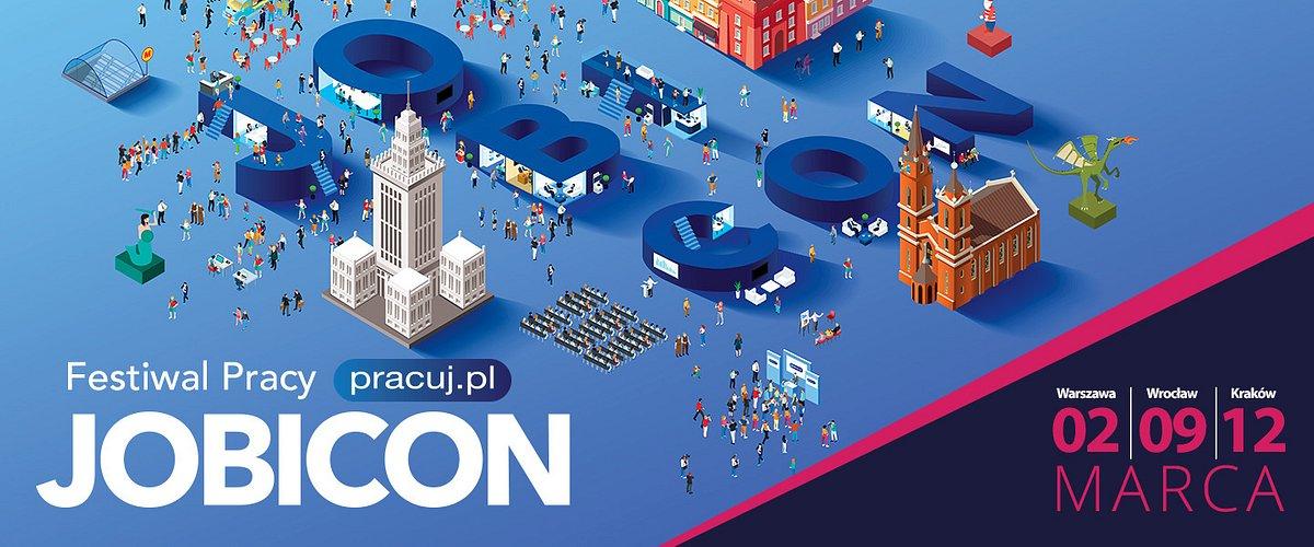 Wiosna przynosi JOBICON! Festiwal Pracy w trzech miastach