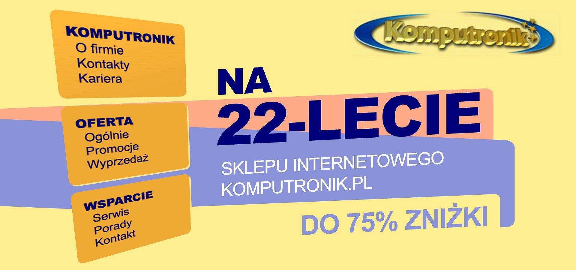 Najstarszy sklep internetowy w Polsce ma 22 lata! Internauci mogą liczyć na urodzinowe rabaty