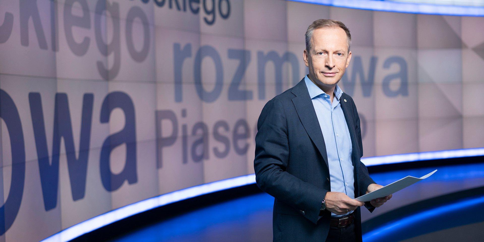 """""""Rozmowa Piaseckiego – kampania 2020"""" już od 24 lutego w TVN24!"""