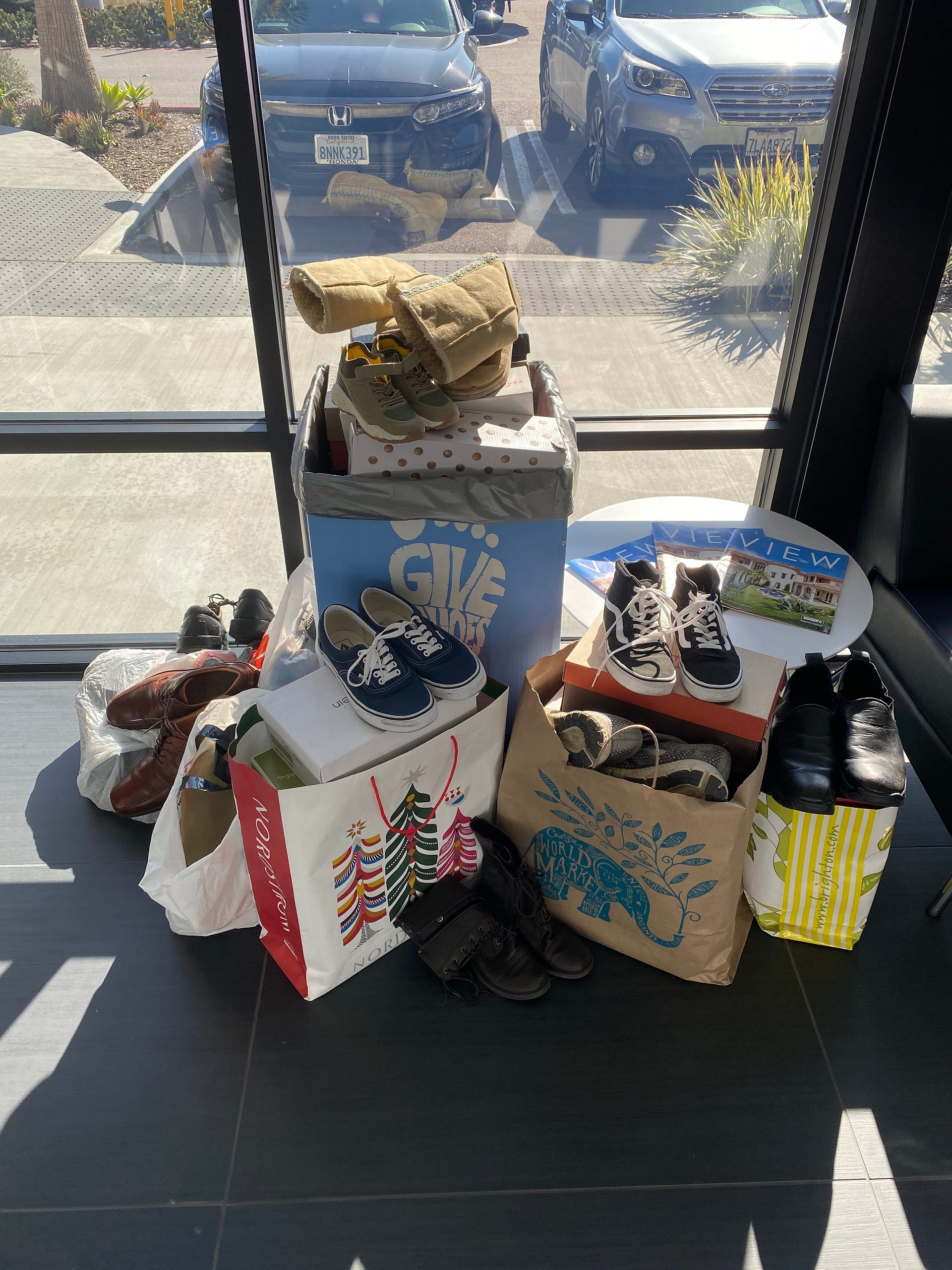 The Encinitas/La Costa Office of Coldwell Banker Realty Collects 280 Pairs of Shoes for Soles4Souls
