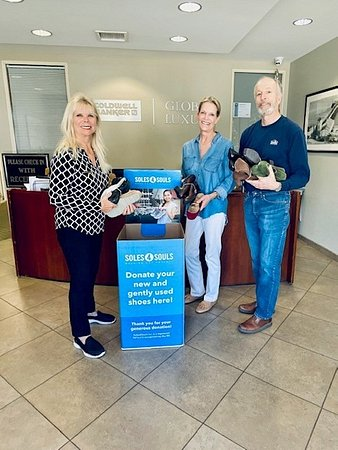 The Malibu Colony & Malibu West Offices of Coldwell Banker Realty Collect 46 Pairs of Shoes for Soles4Souls