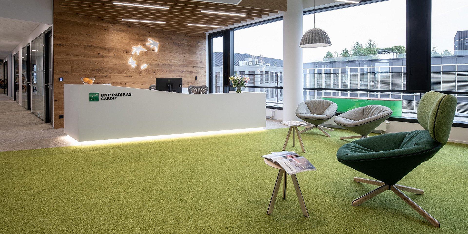 Pomohli jsme expandovat pojišťovně BNP Paribas Cardif do nových kanceláří