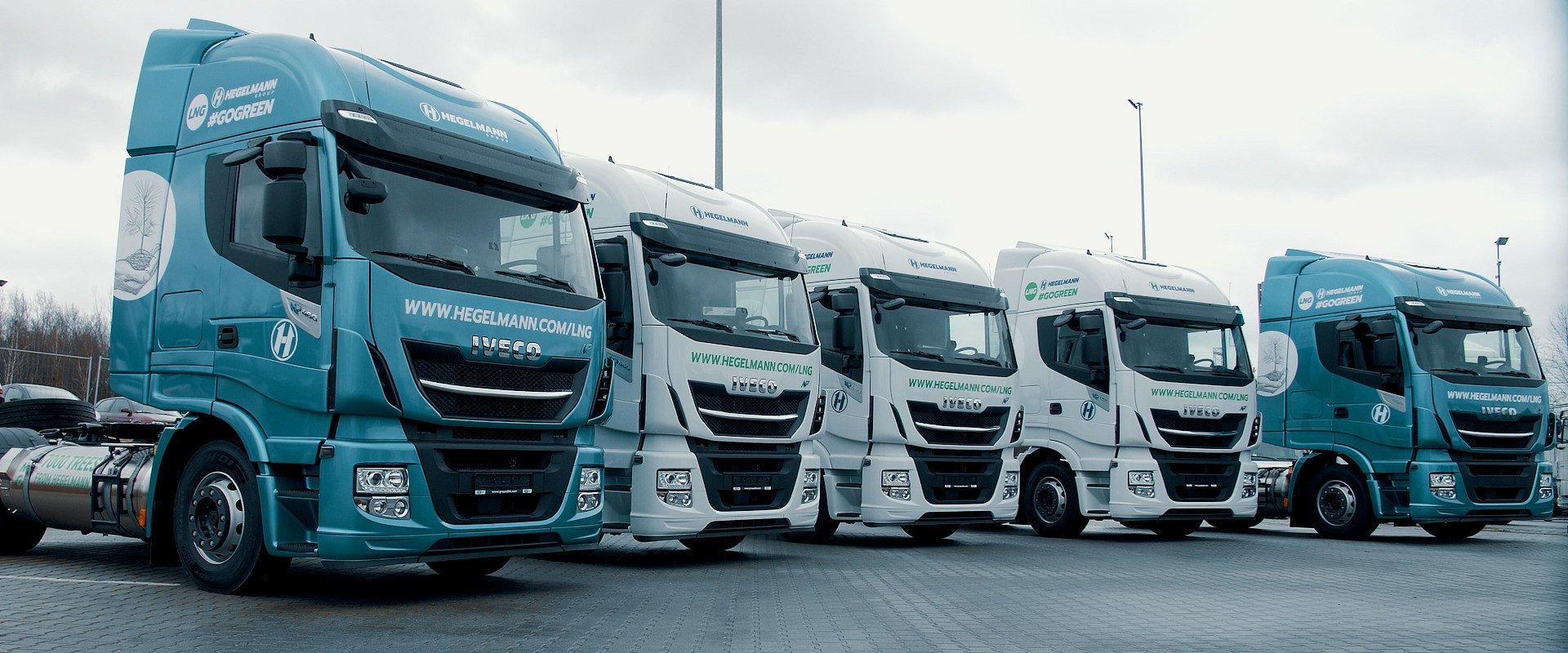 Grupa Hegelmann kupuje pojazdy ciężarowe napędzane skroplonym gazem LNG