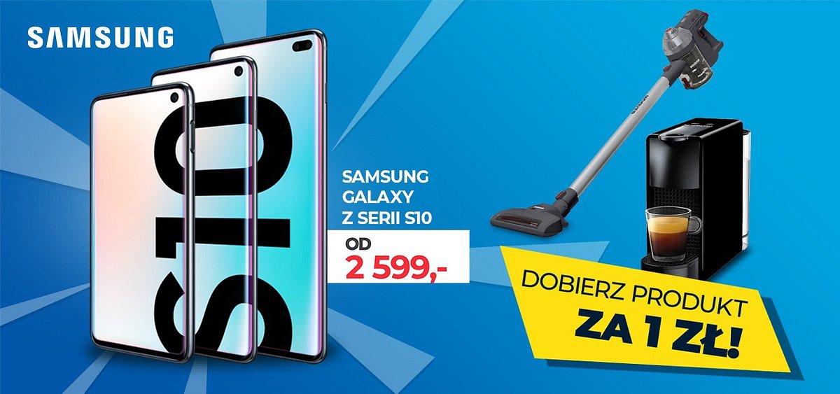 Smartfony Samsung Galaxy z mega dodatkami za 1 zł!
