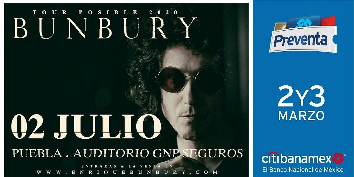 Bunbury regresa a suelo azteca para ofrecer dos únicos conciertos en el país