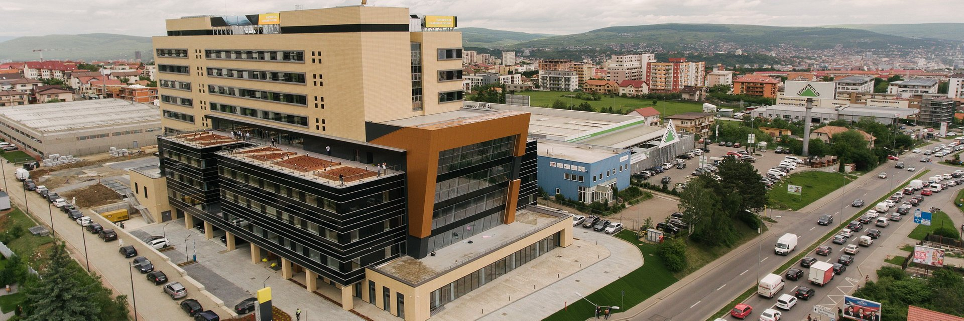 BNP Paribas Real Estate Romania advances with the lease of Hexagon Offices in Cluj-Napoca