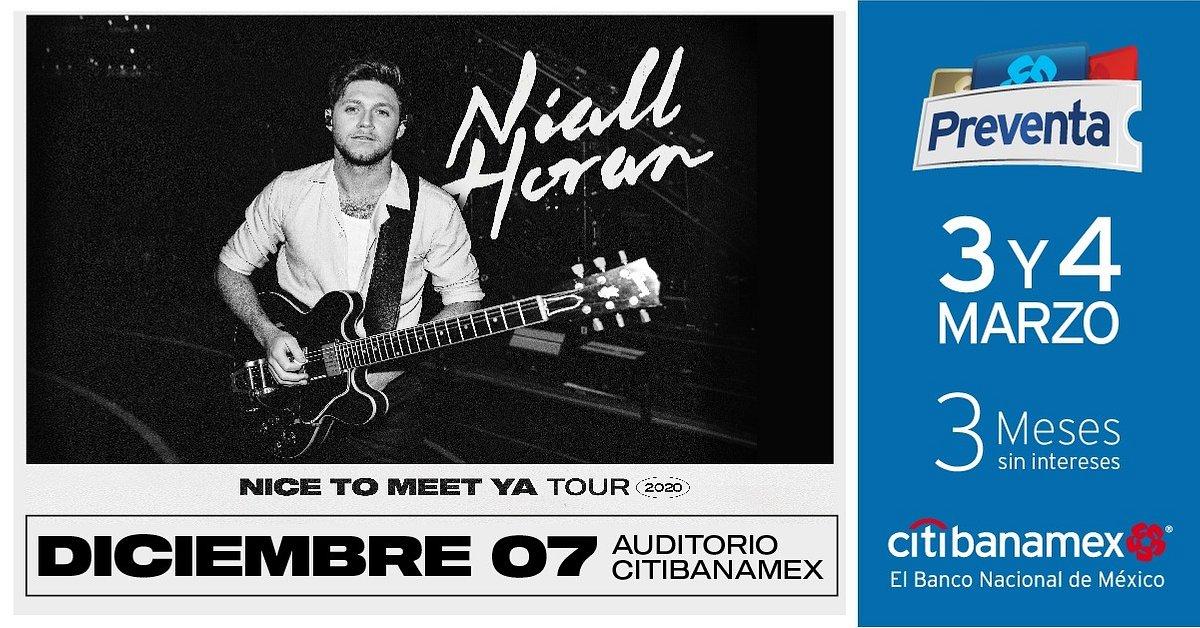 "Niall Horan traerá su ""Nice To Meet Ya Tour"" a Monterrey"