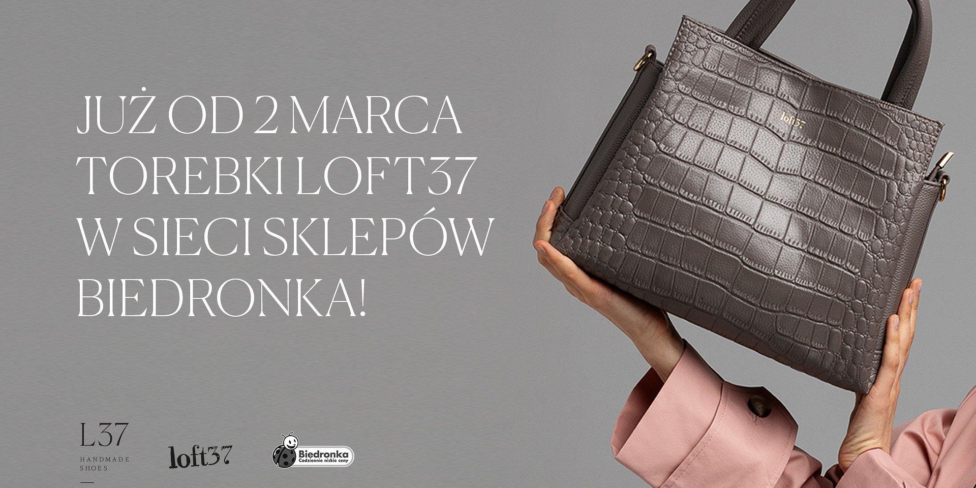 Luksus na wyciągnięcie ręki – torebki Loft37 w Biedronce!