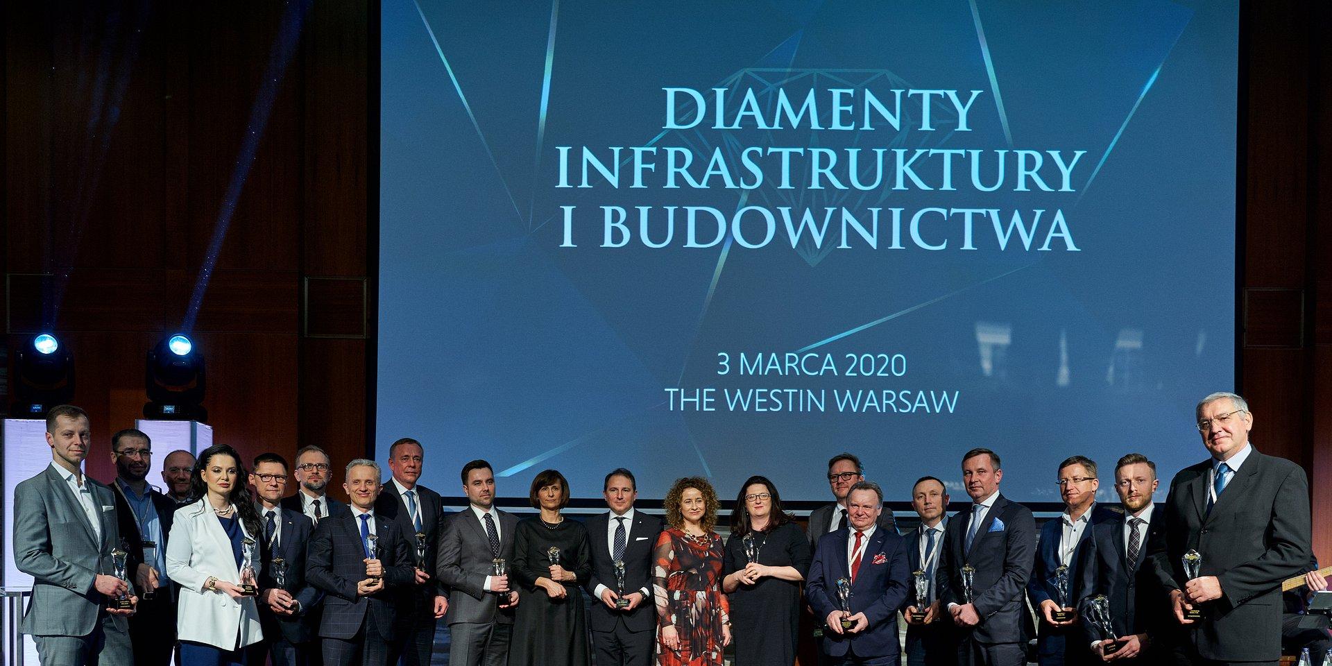 """PKO Rotunda zwyciężyła w konkursie """"Diamenty Infrastruktury i Budownictwa"""""""