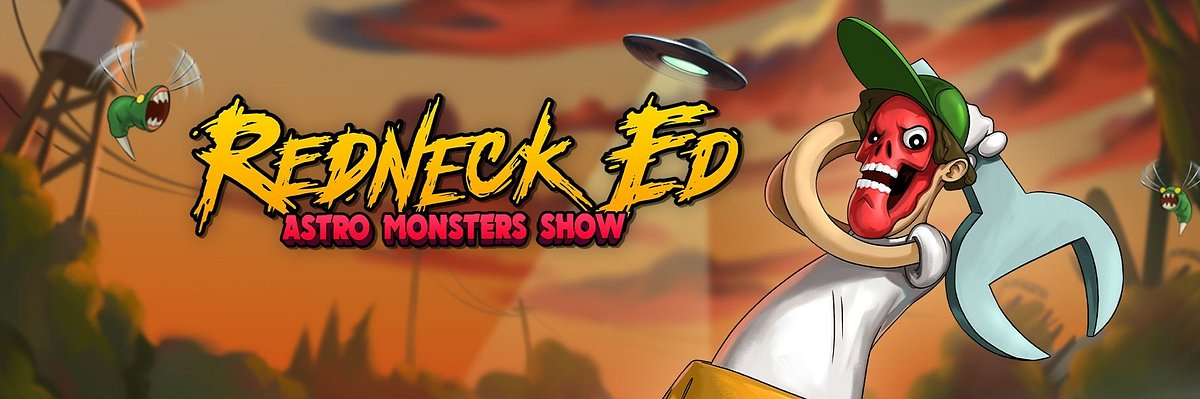 Redneck Ed: Astro Monster Show - announcement. Maniacal cocktail of genres!