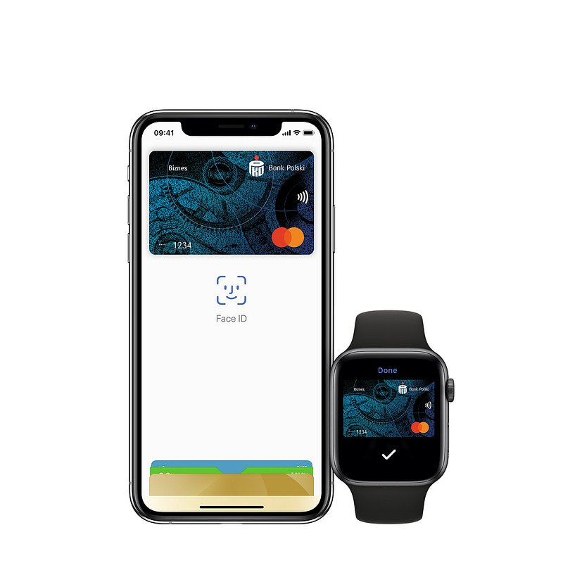 Apple Pay i Garmin Pay dla przedsiębiorców w PKO Banku Polskim