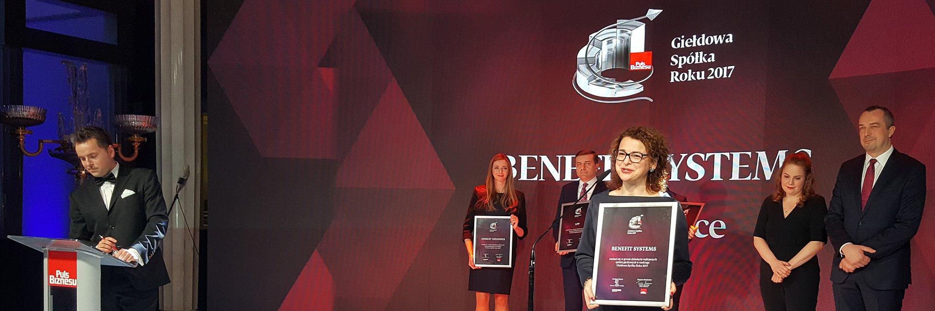 Benefit Systems z dwiema nagrodami w konkursie Giełdowa Spółka Roku