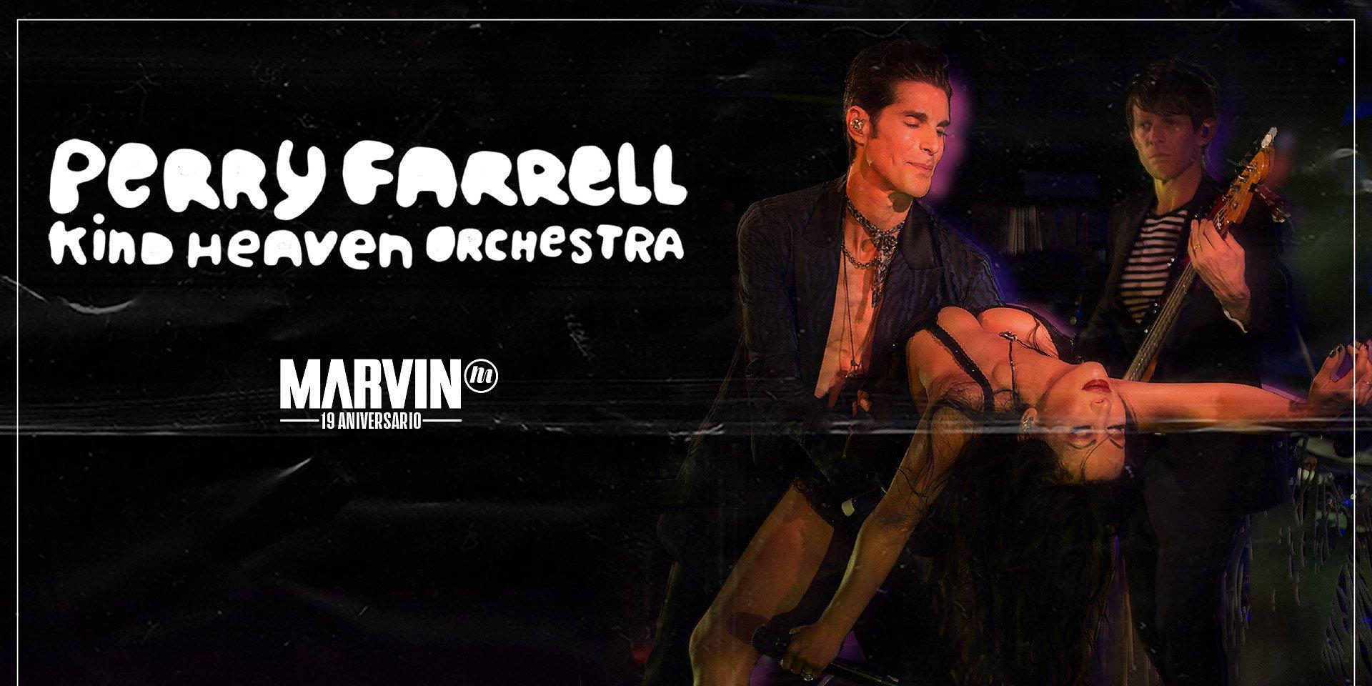 Perry Farrel & The Kind Heaven Orchestra en El Plaza Condesa