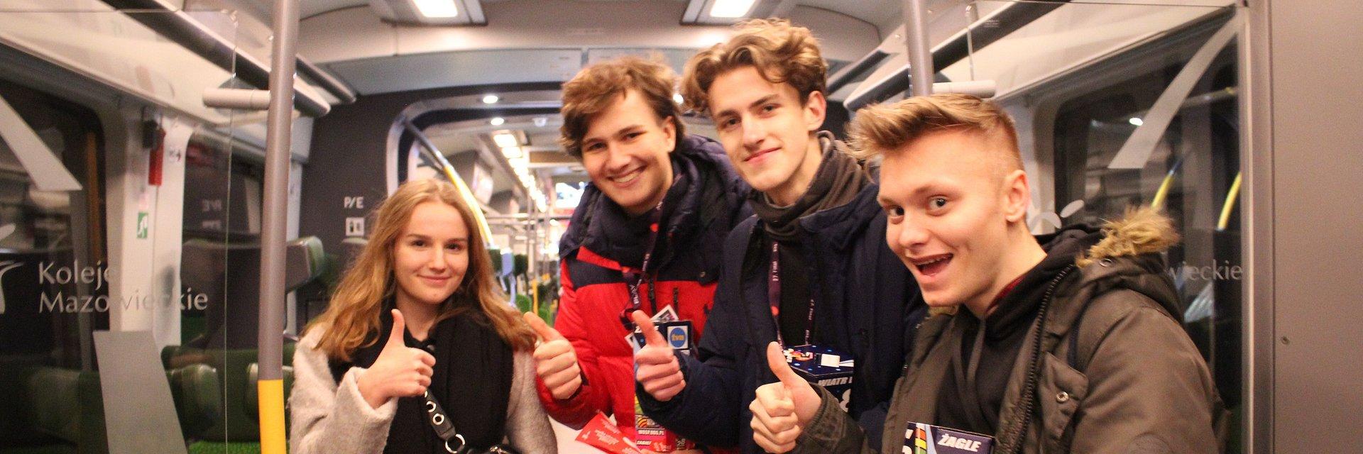 Koleje Mazowieckie zagrały z Wielką Orkiestrą Świątecznej Pomocy na 28. Finale