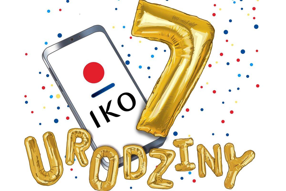 Prawie 4,5 mln aktywnych aplikacji na 7. urodziny IKO!