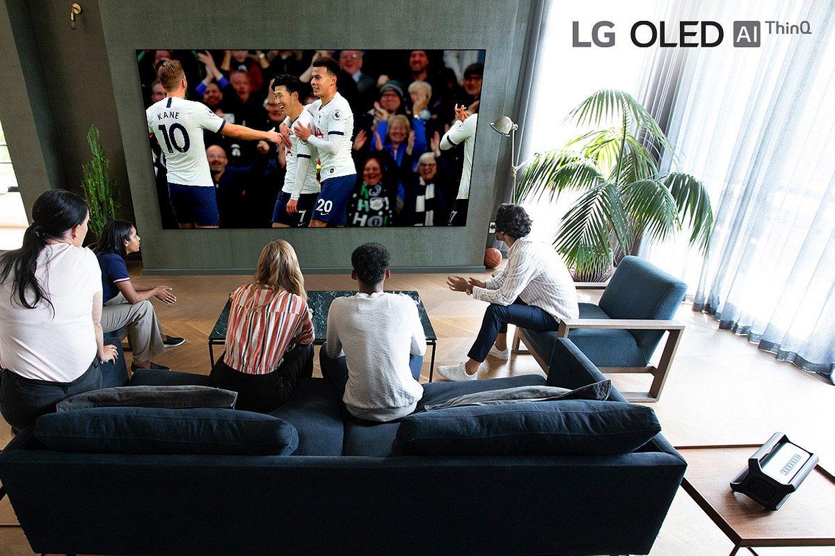 LG filmuje w 8K pierwszy mecz Premier League na najnowsze telewizory!