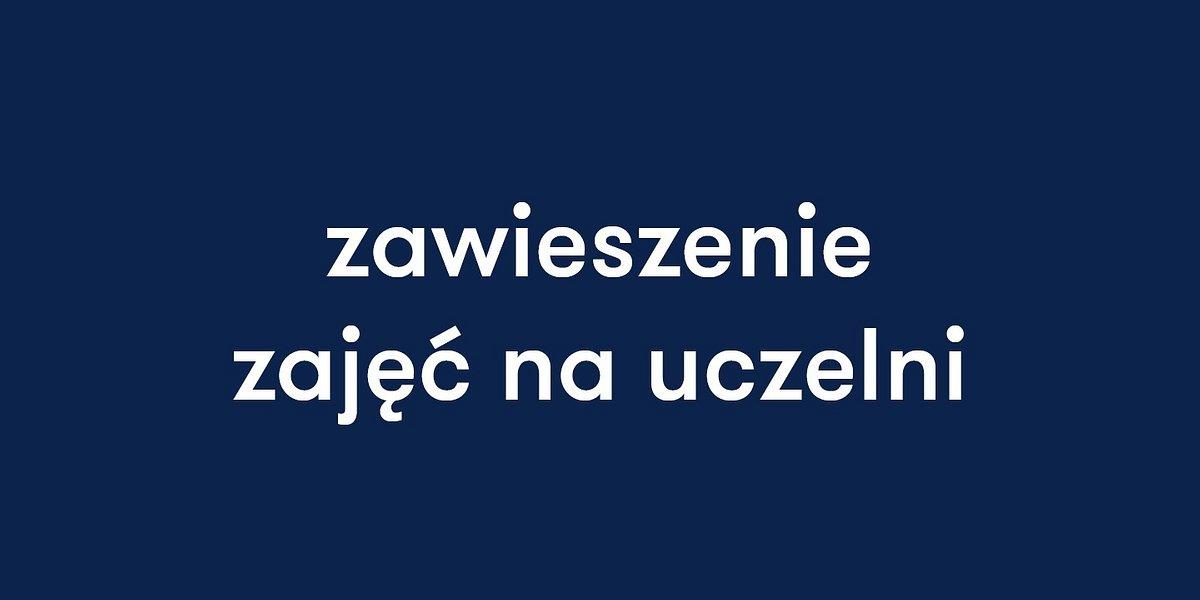 WSB we Wrocławiu zawiesza zajęcia do odwołania