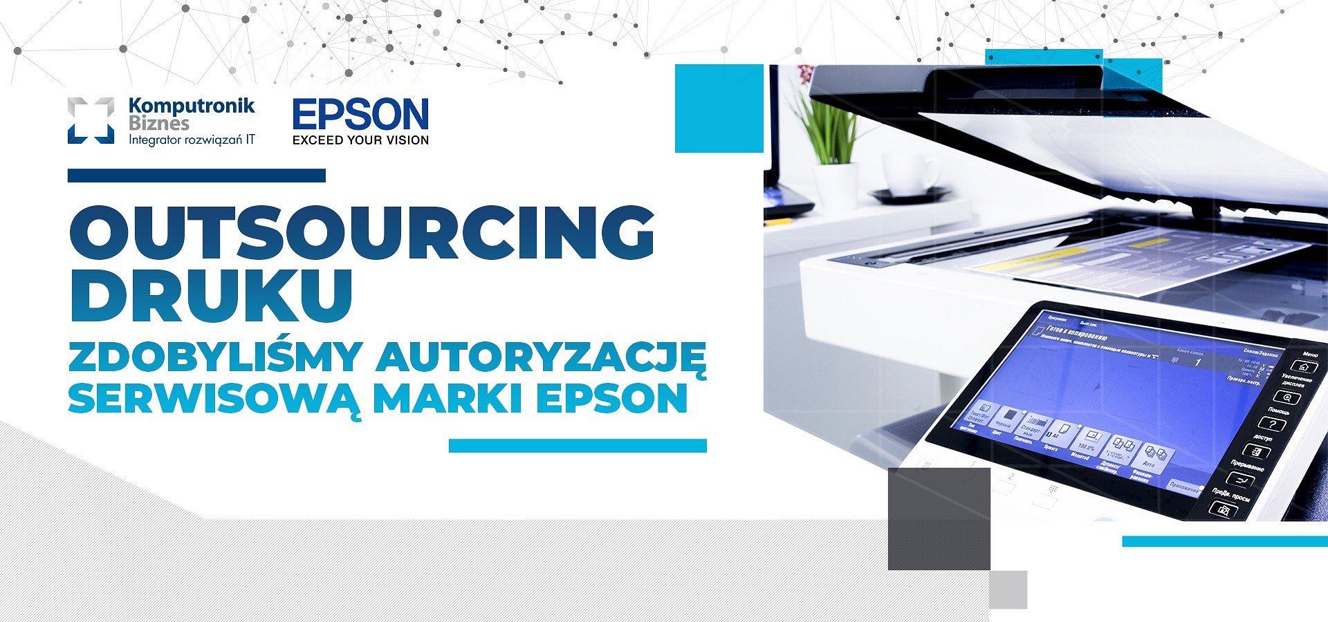 Komputronik Biznes z autoryzacją partnerską Epson Europe