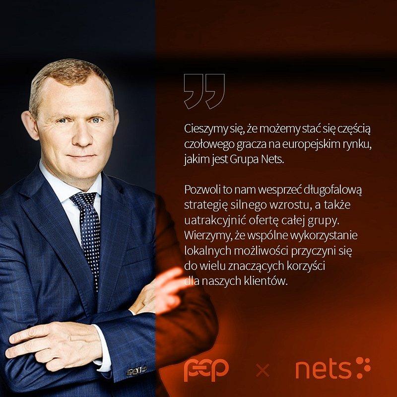 Nets przejmuje wiodącego polskiego dostawcę usług płatniczych Polskie ePłatności (PeP)