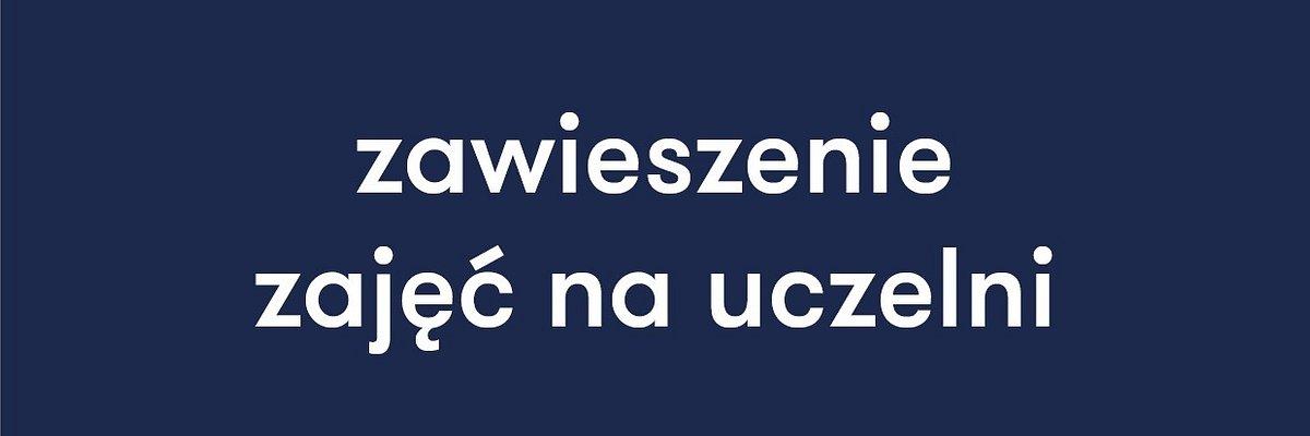 Dolnośląska Szkoła Wyższa zawiesza zajęcia do odwołania