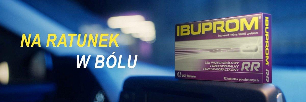 Nowa kampania telewizyjna leku przeciwbólowego Ibuprom RR od Hand Made