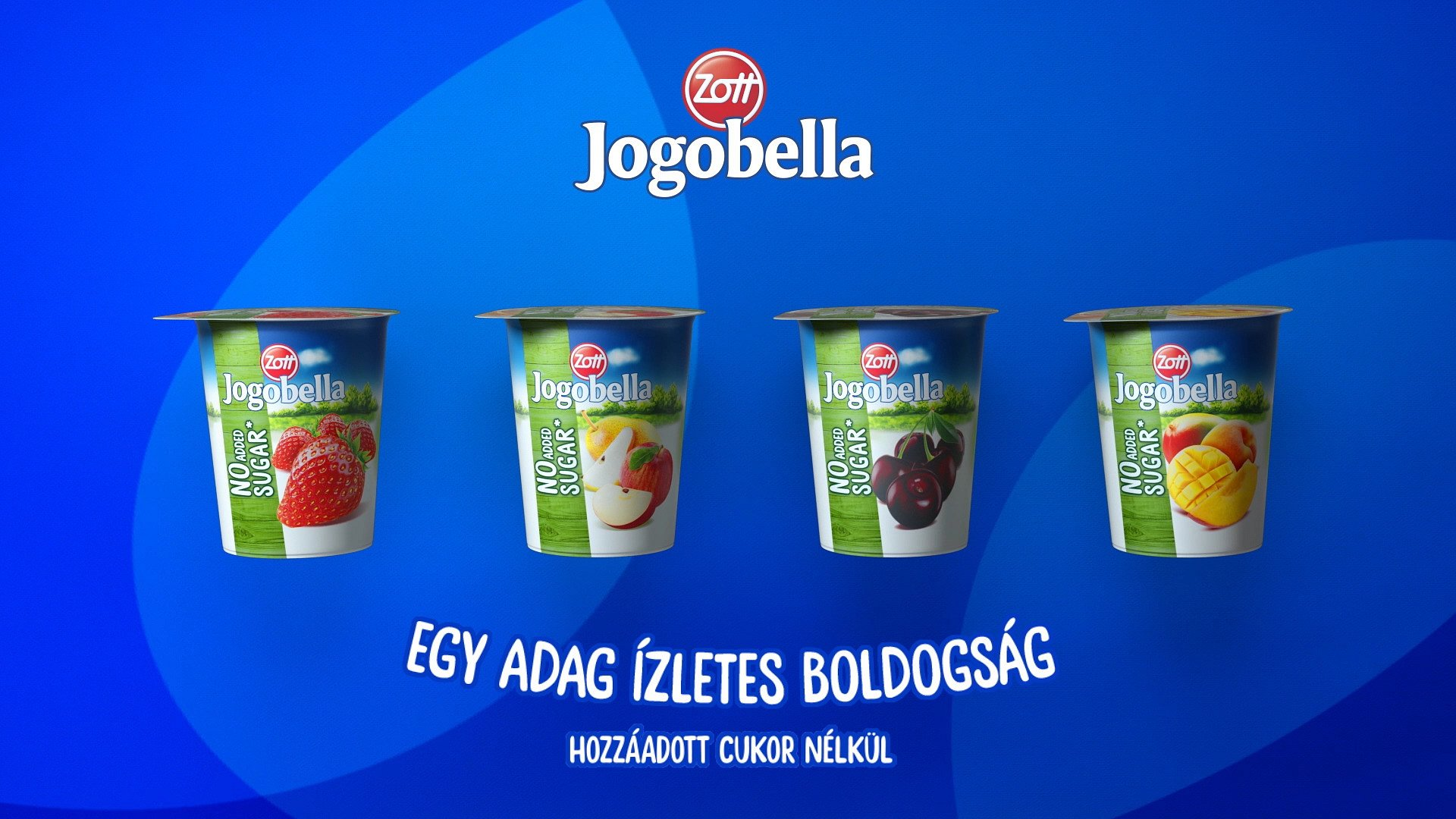 BBDO Warszawa dla marki Jogobella na Bałkanach i Węgrzech